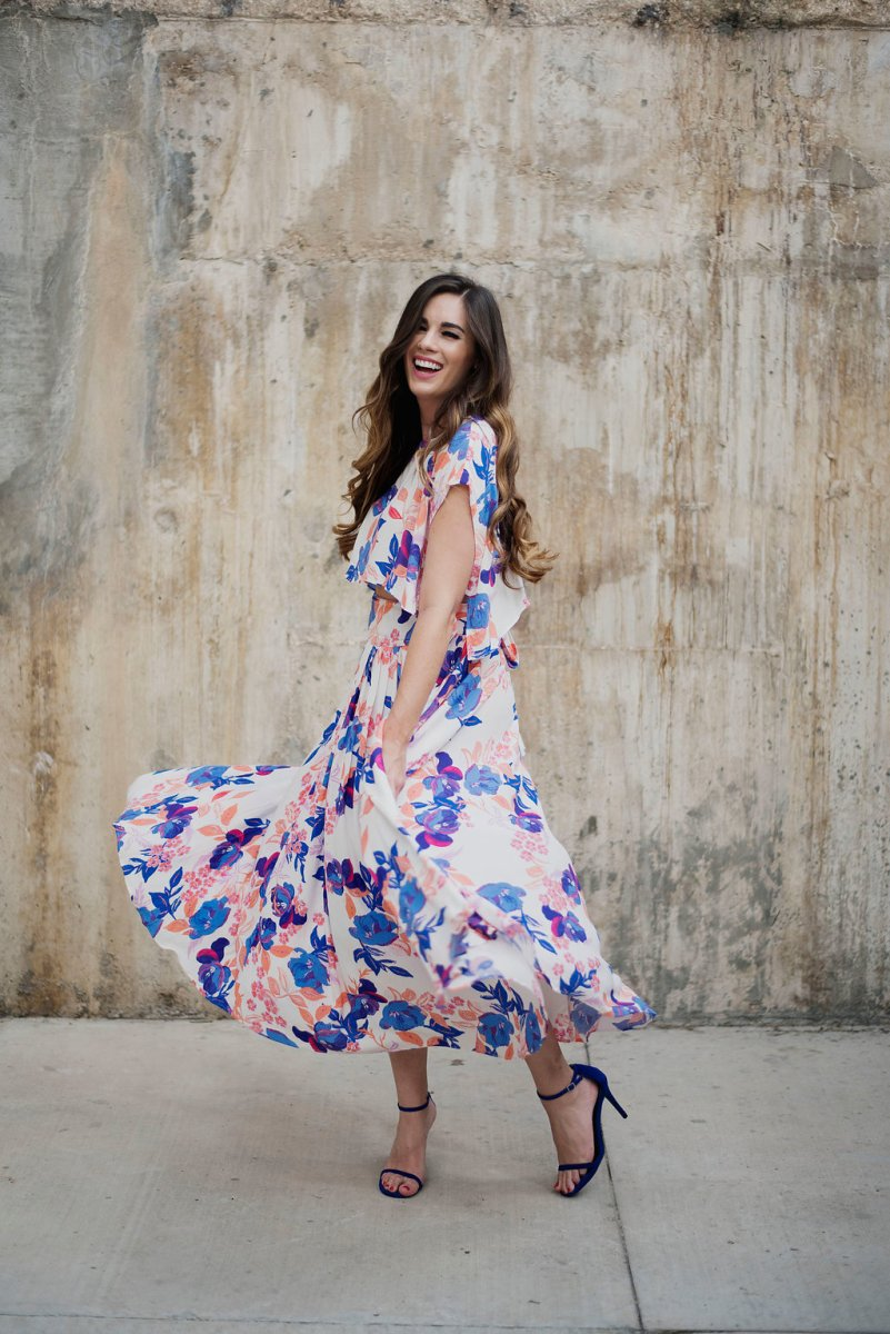 Floral Two-Piece Set by Free People