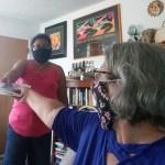 Persie delivers finished masks
