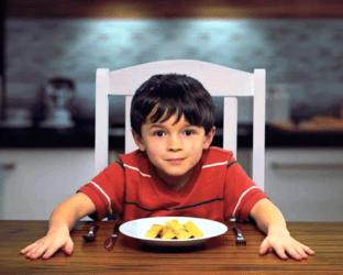 Feed the kid.