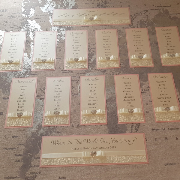 sequin sparkle table plan on a world map canvas