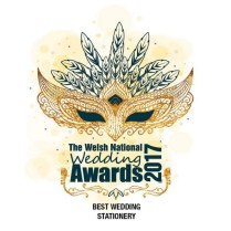 Welsh National wedding Awards best stationery award 2017 for By Jo Wedding stationery Cardiff