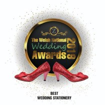 wesl national wedding award best stationery 2019