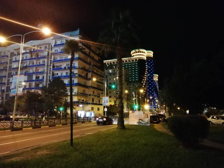 Bright lights of batumi