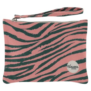 tiger camouflage clutch small