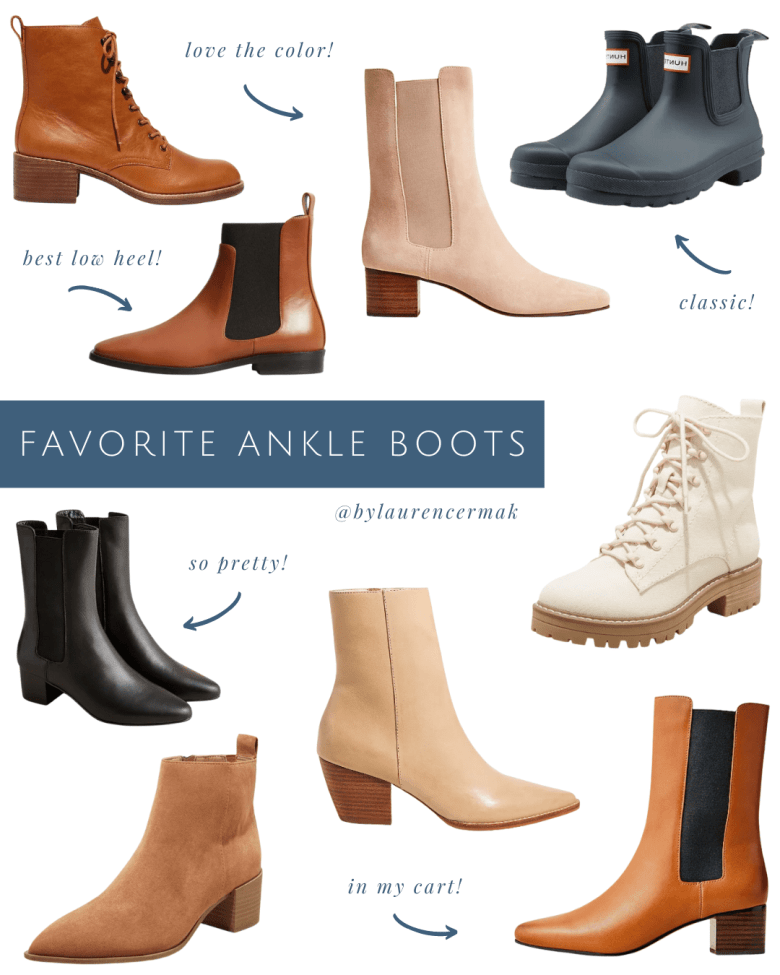 favorite ankle boots