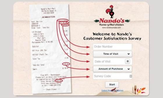 Nando's Survey