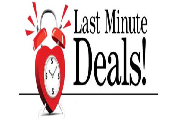 Last Minute Deals Online