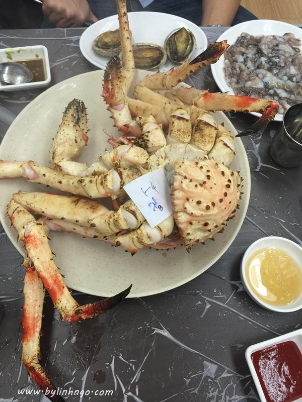 chợ hải sảnNoryangjin