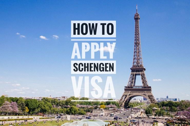 Kinh nghiệm xin visa schengen tự túc