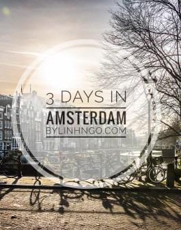 Du lịch Amsterdam