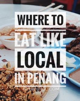 địa điểm ăn uống ở Penang