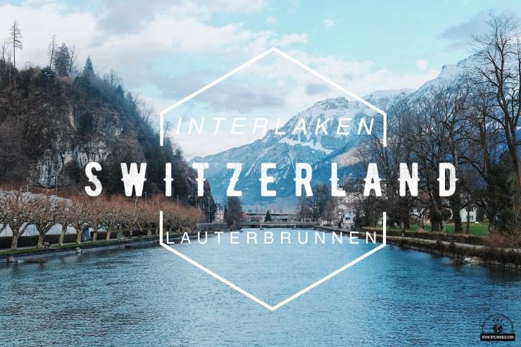 Interlaken và thung lũng lauterbrunnen