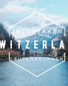 Interlaken và thung lũng lauterbrunnen