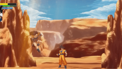 Screenshot 2 - Dragon Ball Z Tournament, FANGAME DE DBZ CON HISTORIA