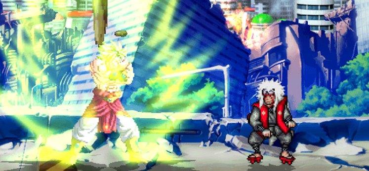 Dragon Ball Z vs Naruto Shippuden, LA GRAN BATALLA