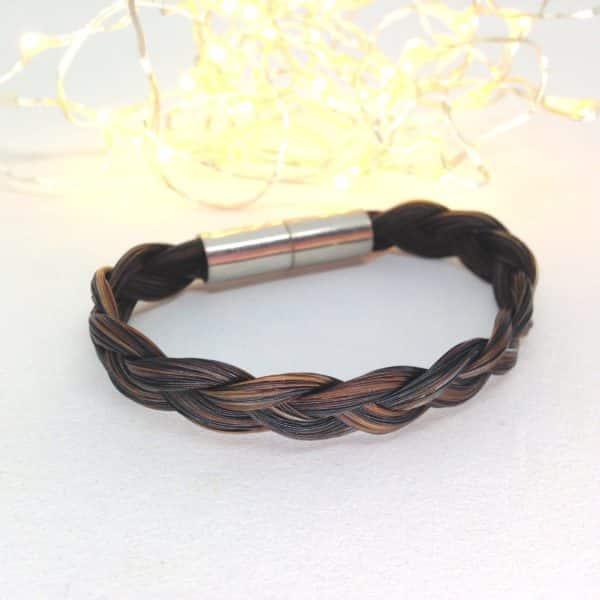 Bracelet en crin aimanté Nino simple