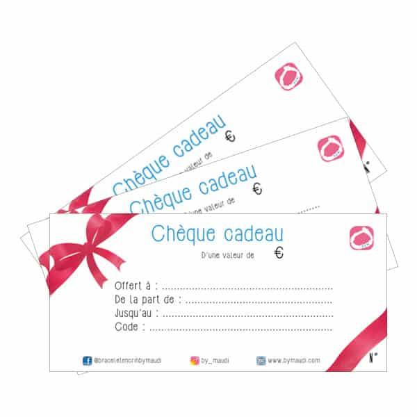 Chèque cadeau By Maudi