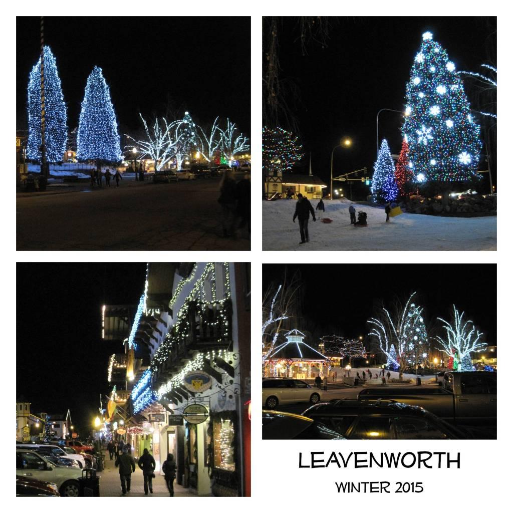 Leavenworth night