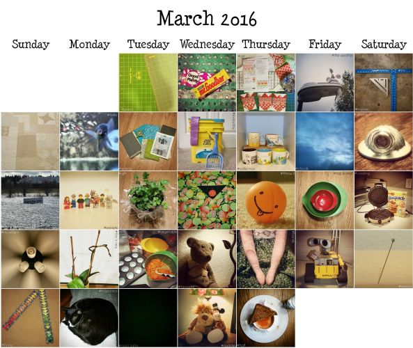 2016 March Photo A Day