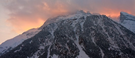 Pralognan-la-Vanoise-sunset