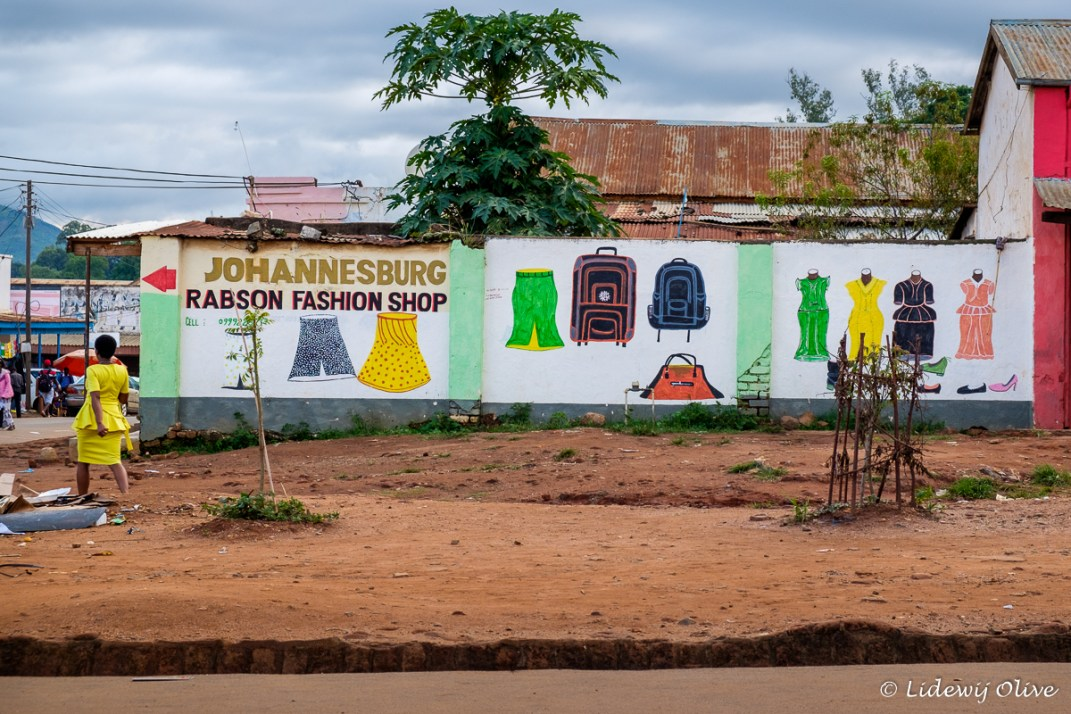 Commercial for a fashion shop, Zomba