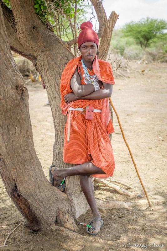 Masaai man