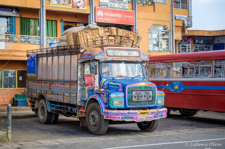 Colourfull truck