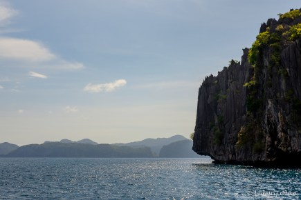 Beautiful cliffs in El Nido