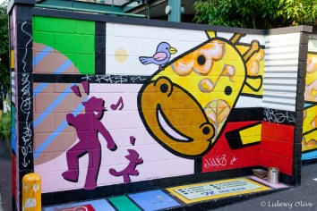 Street art in Shimokitazawa