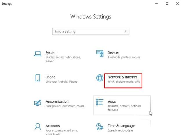 How to turn on Mobile Hotspot in Windows 10