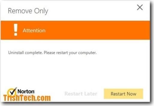 How to remove-reinstall Norton anti-virus using Norton removal tool