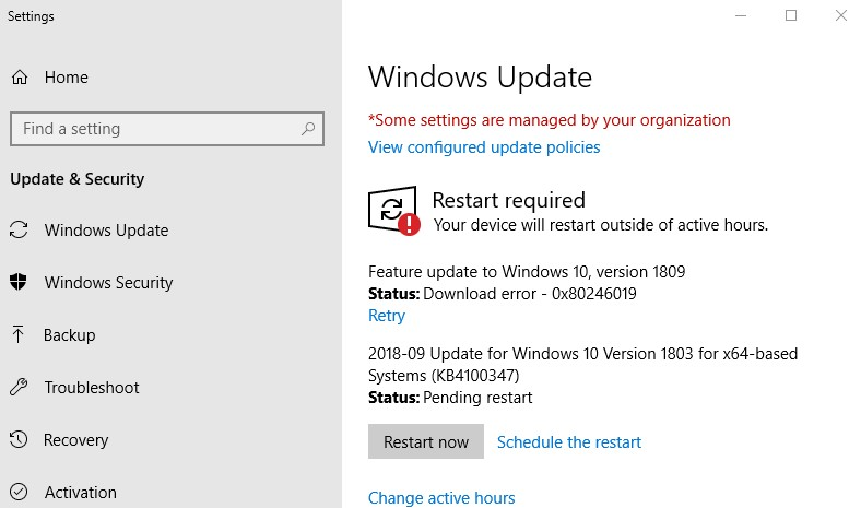 windows 10 latest version download 2018