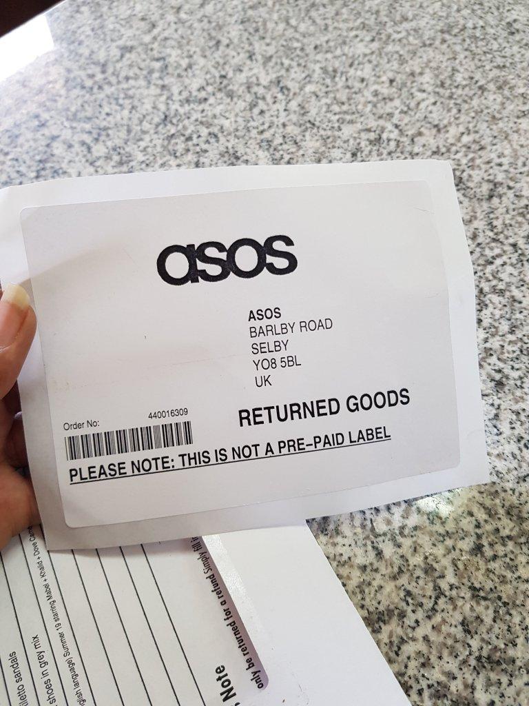 asos return address label