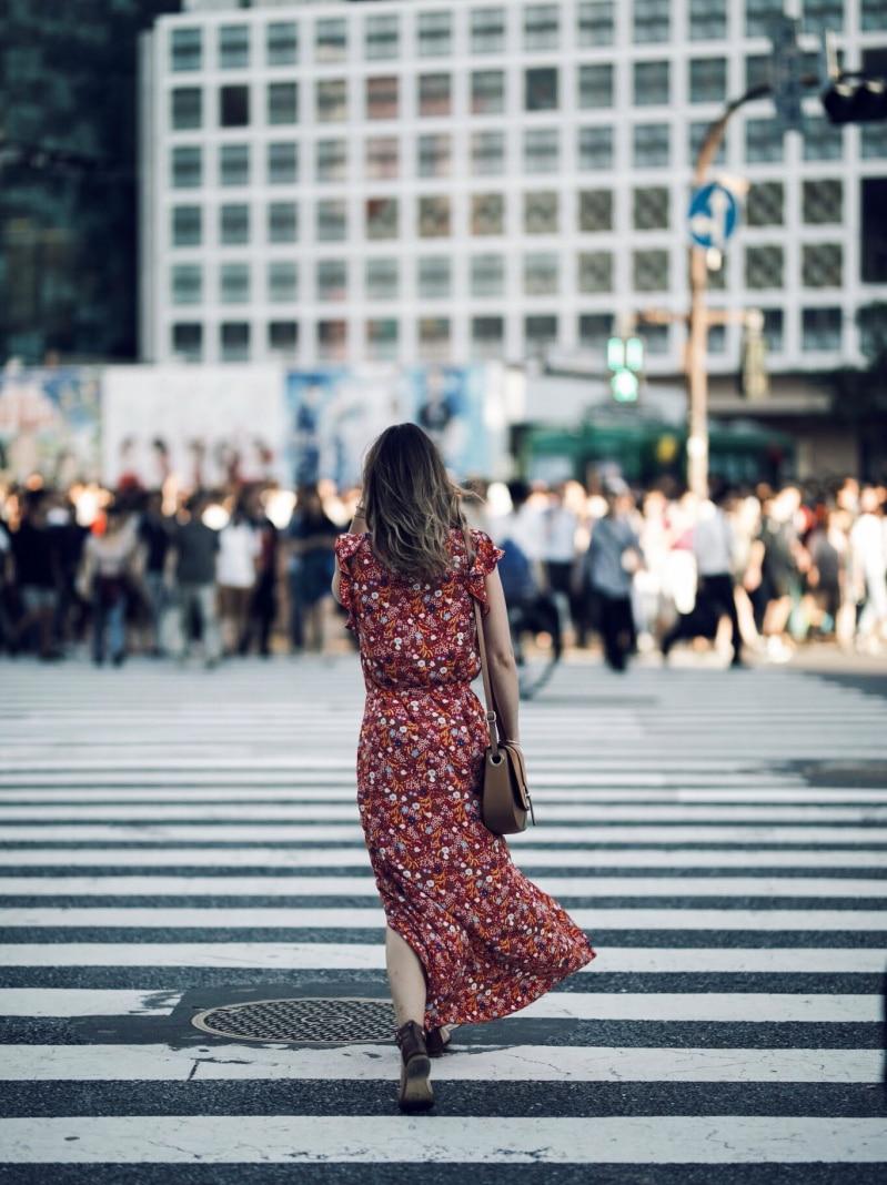 robe longue tokyo japon