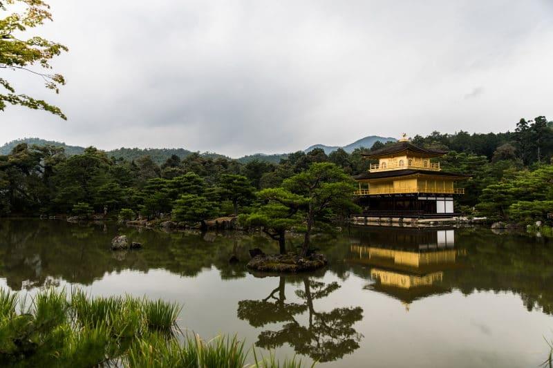 préparer son voyage au Japon kinkakuji