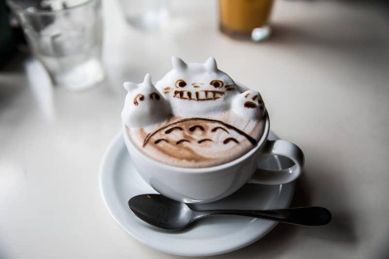 préparer son voyage au Japon café 3D osaka