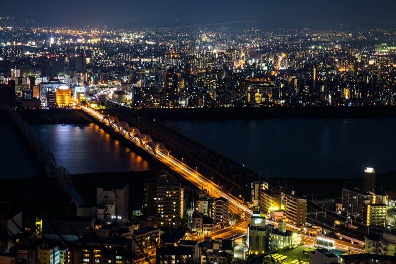 préparer son voyage au Japon vue Osaka