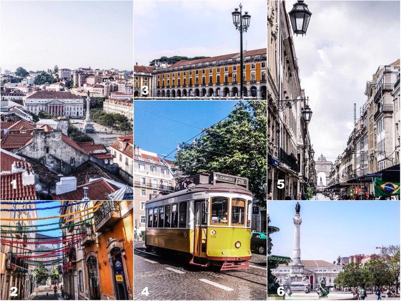 Guide Lisbonne By Opaline baixa chiado