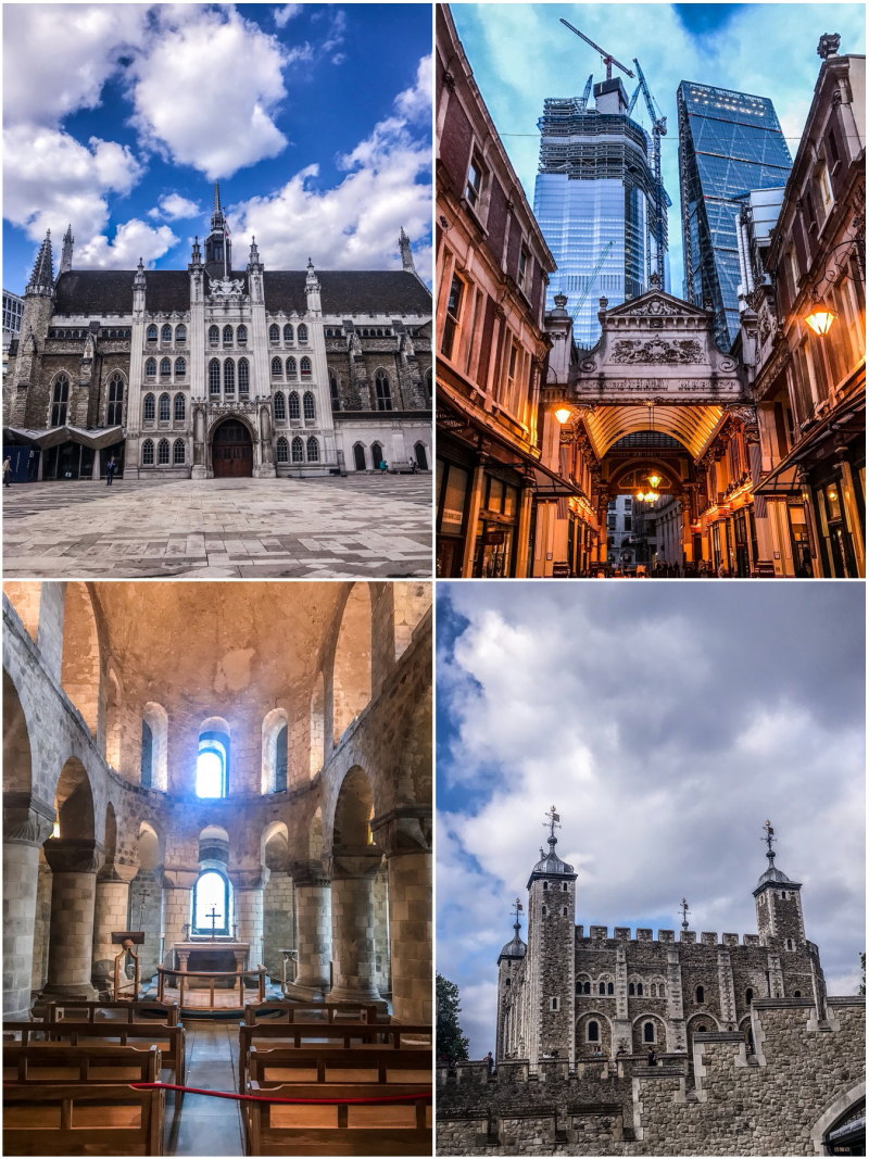 City guide Londres blog voyage By Opaline Tour de Londres