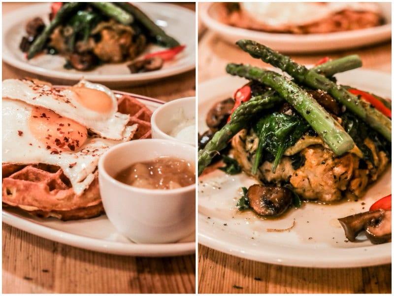 Londres végétarien bonnes adresses blog voyage By Opaline breakfast club