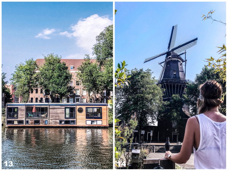 City guide Amsterdam By Opaline blog voyage moulin