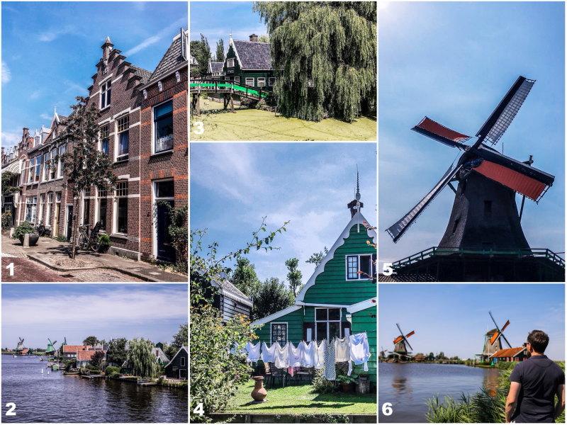 City guide Amsterdam By Opaline blog voyage Zaanse Schans