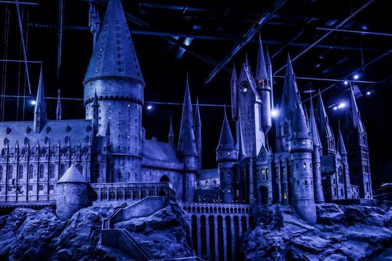 studios Harry Potter maquette château Poudlard