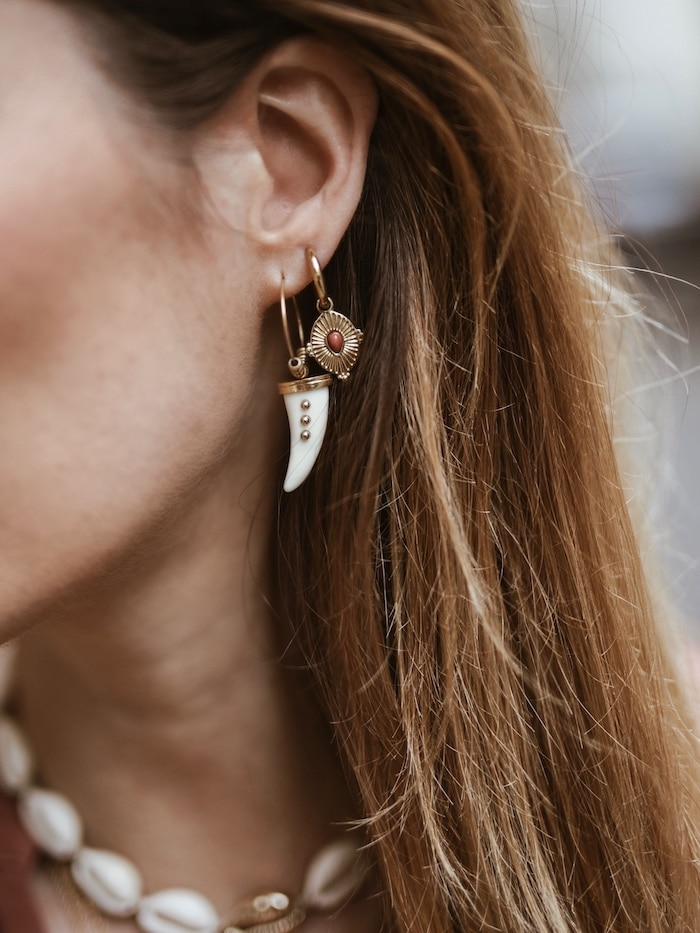 Look femme printemps 2019 bijoux Adopt' Lisa Germaneau blog mode France Lyon By Opaline