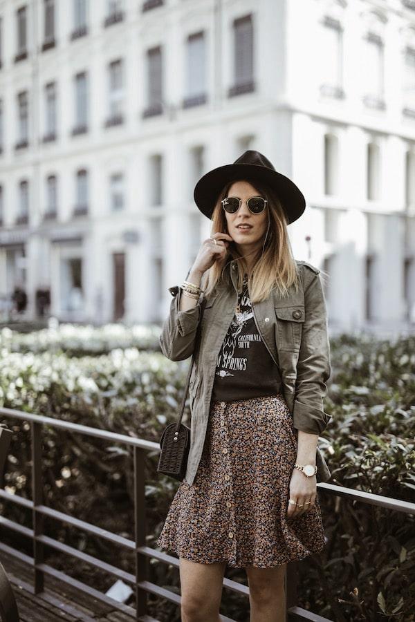 Look New Look rock blog mode France Lyon By Opaline