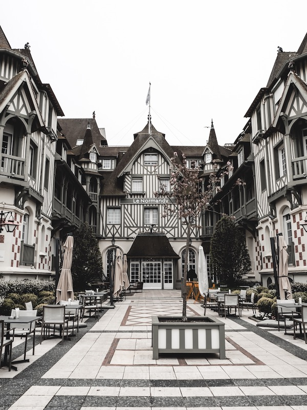 Voyage Normandie hotel Le Normandie Deauville blog Lyon France By Opaline