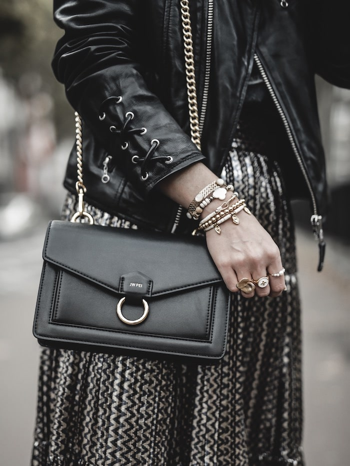 Look inspiration femme sac vegan Friday by JW PEI blog mode Lyon France By Opaline