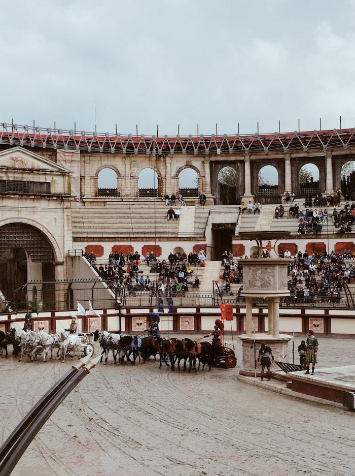 Séjour deux jours Puy du Fou spectacle la signe du triomphe blog voyage By Opaline Lyon France