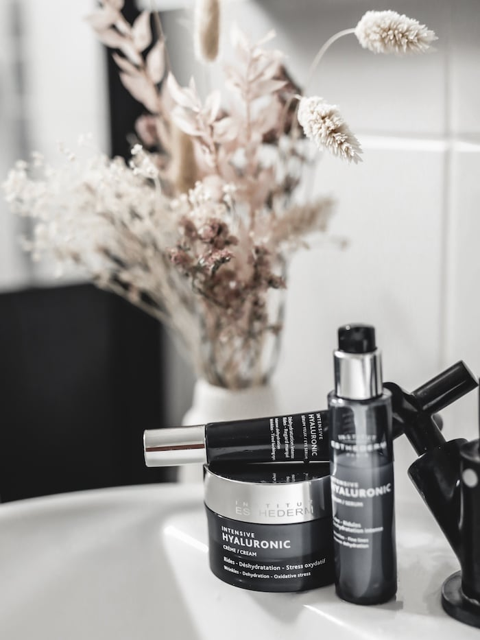 Gamme soin Intensive Hyaluronic Institut Esthederm blog mode lifestyle beauté Lyon France By Opaline