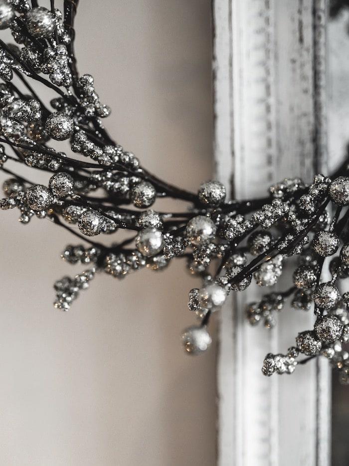 Inspiration décoration Noël nature bois blanc blog déco By Opaline Lyon France
